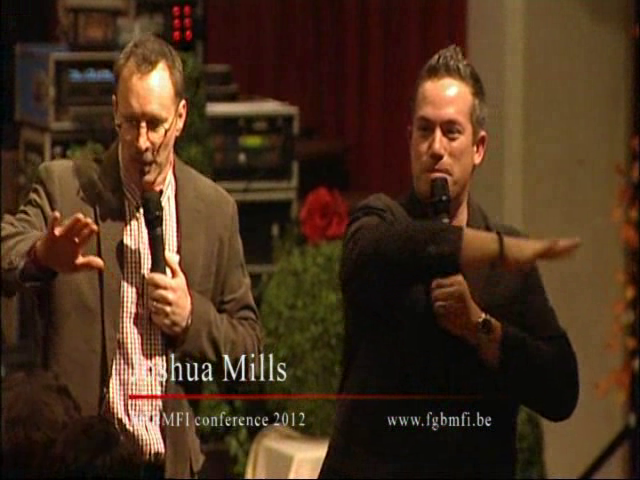 Joshua MILLS - My strenght is in the Lord